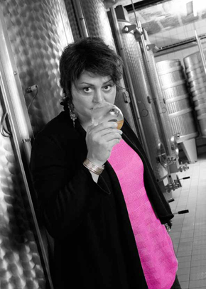 Clotilde Chauvet, the house oenologist
