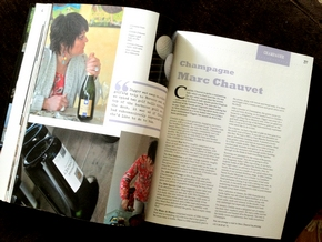 Jancis Robinson speeks about Champagne Marc Chauvet on her website